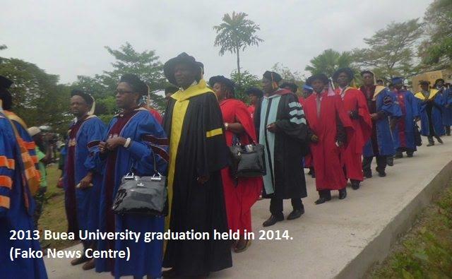 Fako News Centre 2013 Buea Uni Graduation